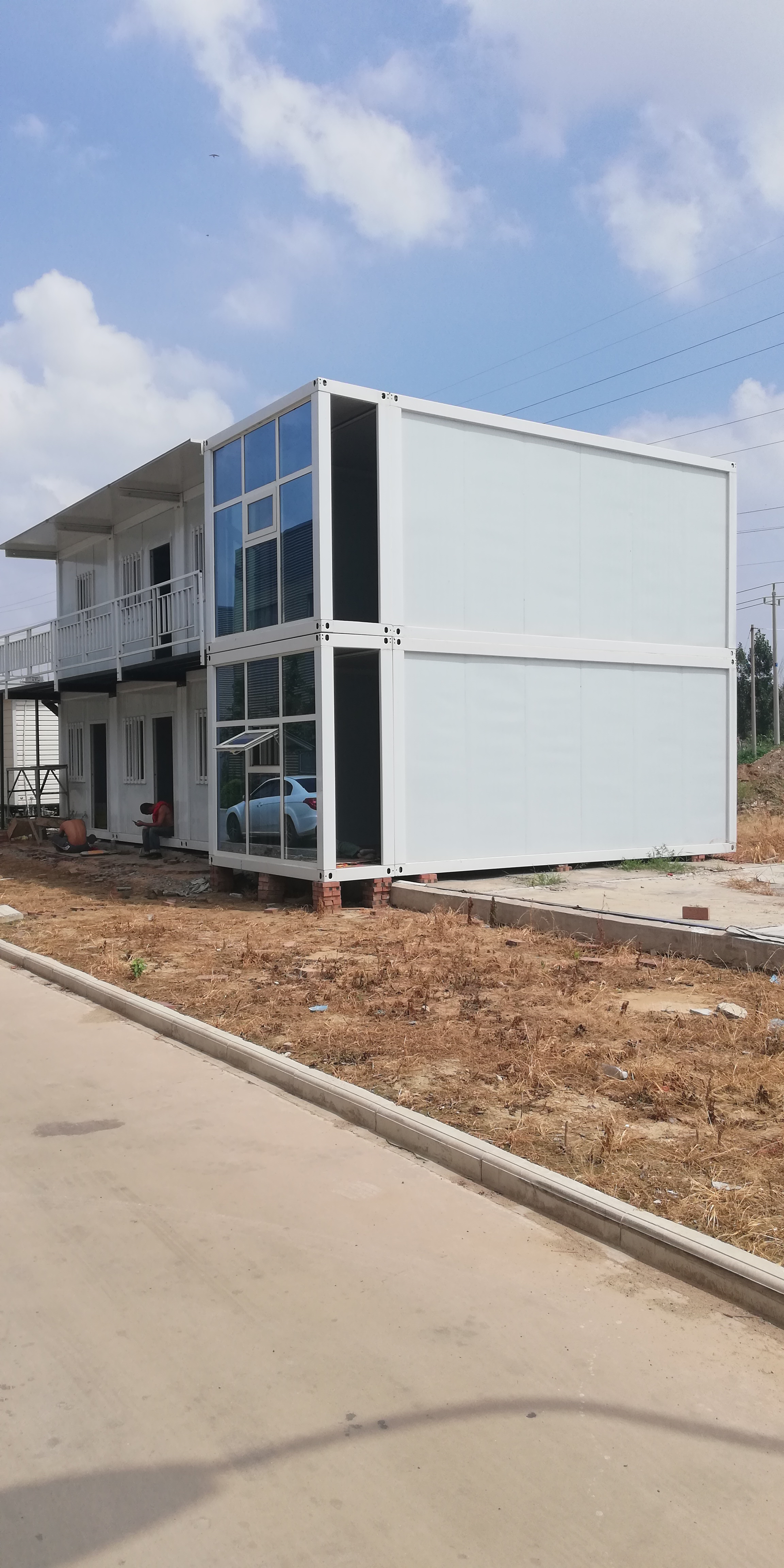 Platpack container Office
