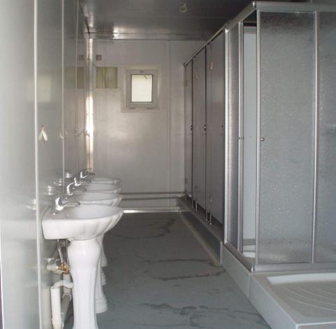 Mobile house Toilet