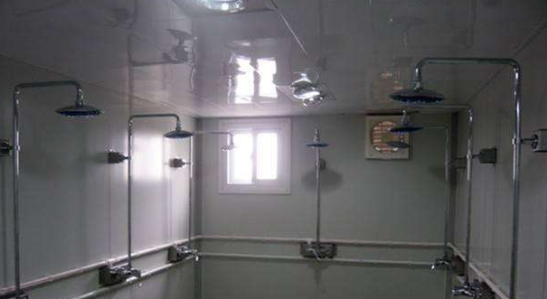 Platpack container Shower