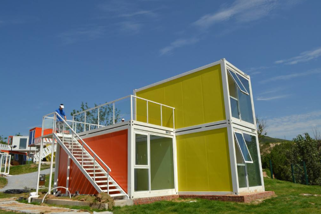 Customized Container House Villa