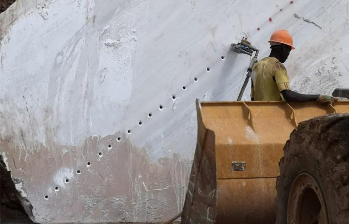 Mining methods in African mining areas