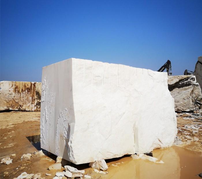 หินอ่อนสีขาวแอฟริกัน —— บล็อก