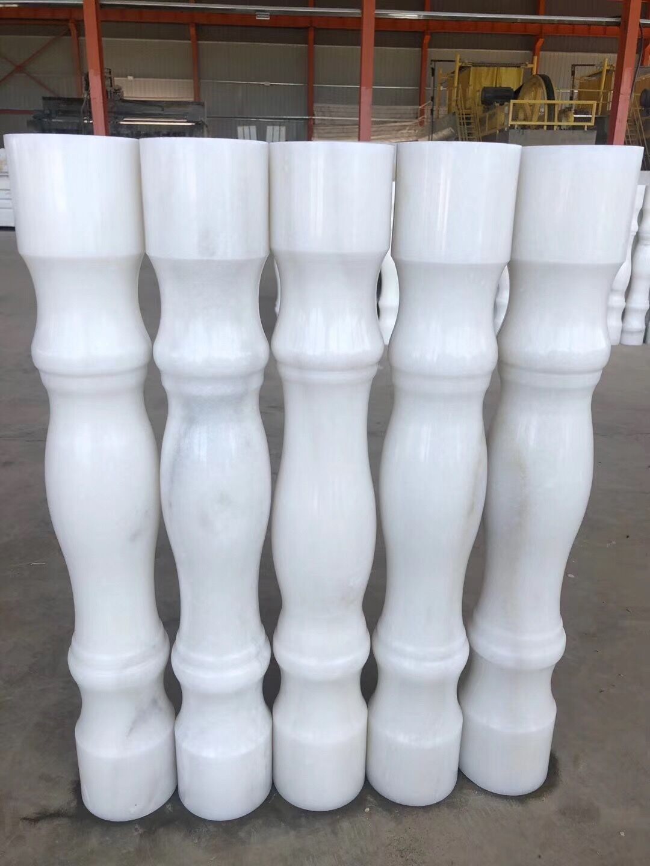 Cloud white marble column Manufacturers, Cloud white marble column Factory, Supply Cloud white marble column
