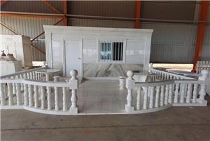 Produk Hiasan Rumah Marmer Putih Jade Afrika
