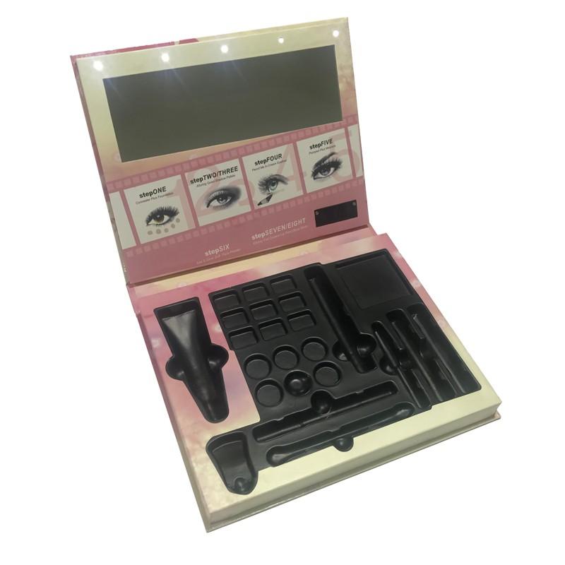 Eyeshadow Palette Palette Box Makeup Powder Box With Mirror