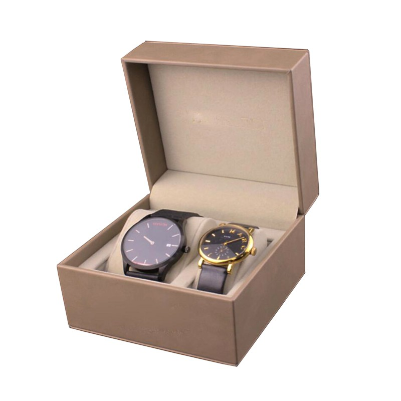 PU Leather Watch Box Luxury MDF Box