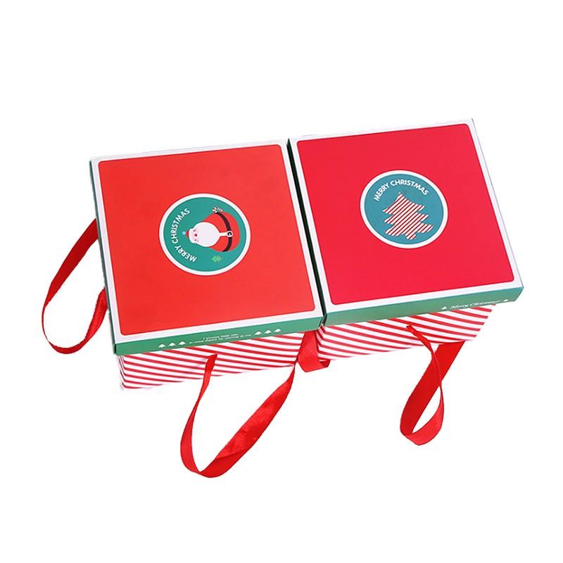 Cute Xmas Present Box Custom Printed Box