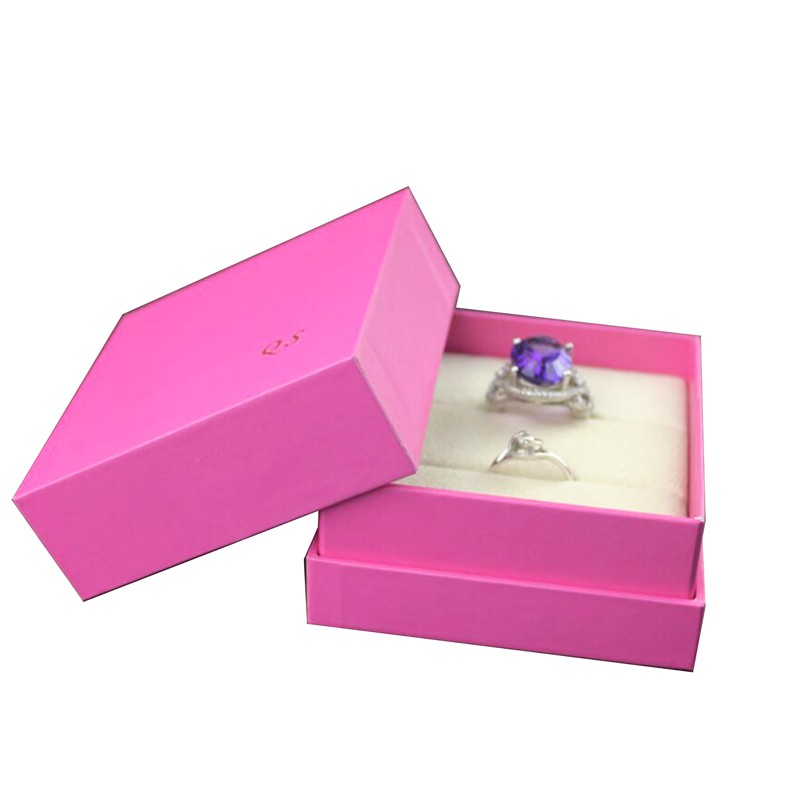 Small Pink Jewelry Box Stylish Jewelery Case