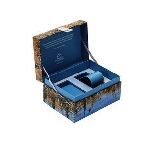 Custom Premium Mens Watch Box Blue Watch Box