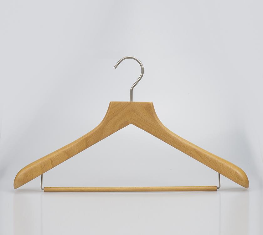suit wood hanger