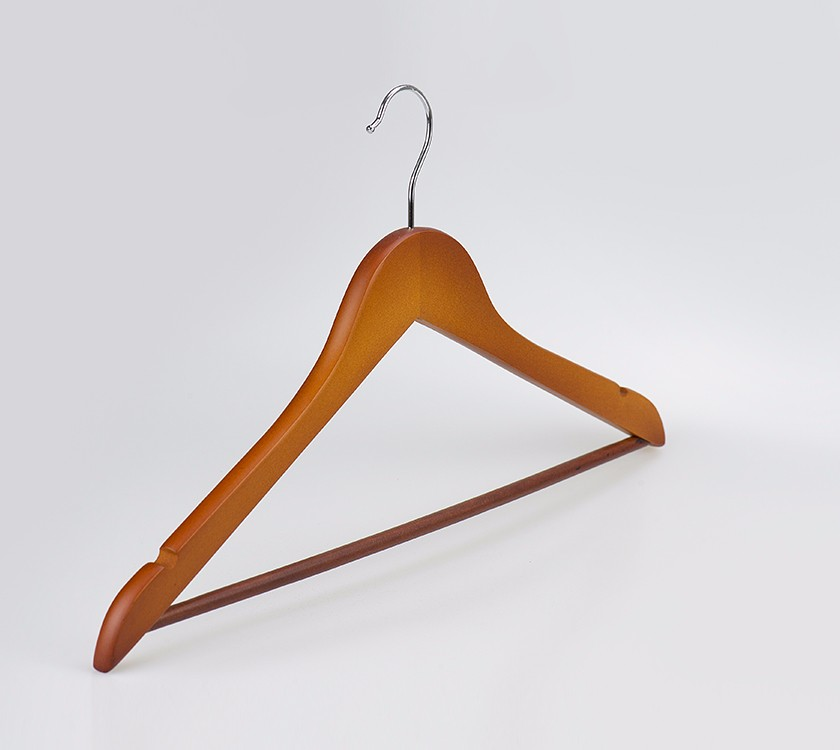 Wooden Non Slip Clothes Hanger With Notch Manufacturers, Wooden Non Slip Clothes Hanger With Notch Factory, Supply Wooden Non Slip Clothes Hanger With Notch