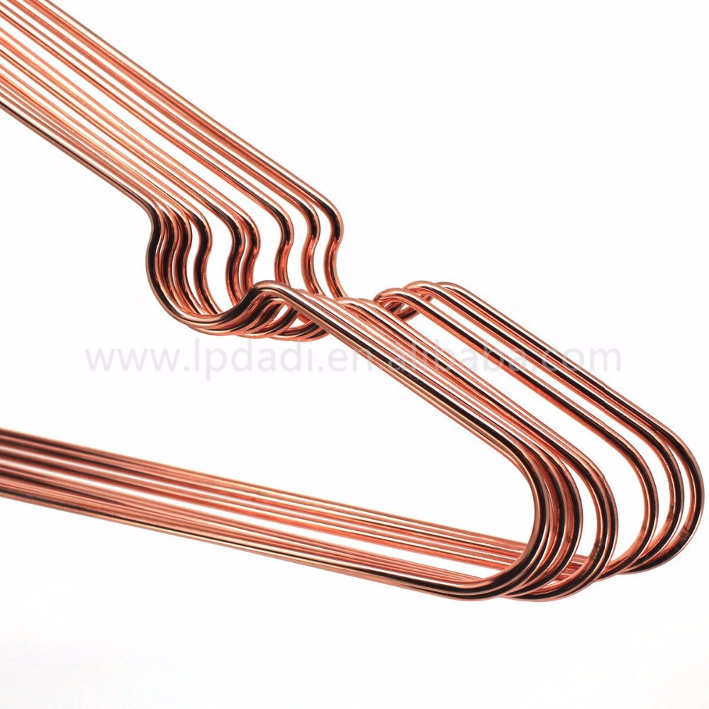 Rose Gold Metal Hanger Rack With Notches Manufacturers, Rose Gold Metal Hanger Rack With Notches Factory, Supply Rose Gold Metal Hanger Rack With Notches
