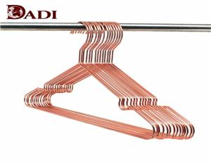 Support de suspension en métal doré rose avec encoches
