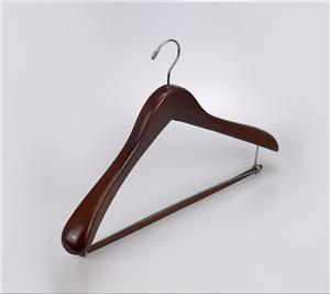 Wooden Clothes Hanger For Gentleman Suit