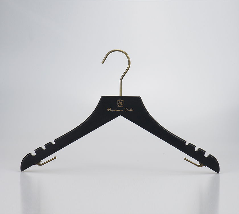 wooden suit jacket hanger