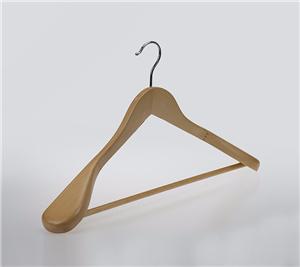 Chất lượng gỗ Suit Hanger Có Round Bar Đối với quần