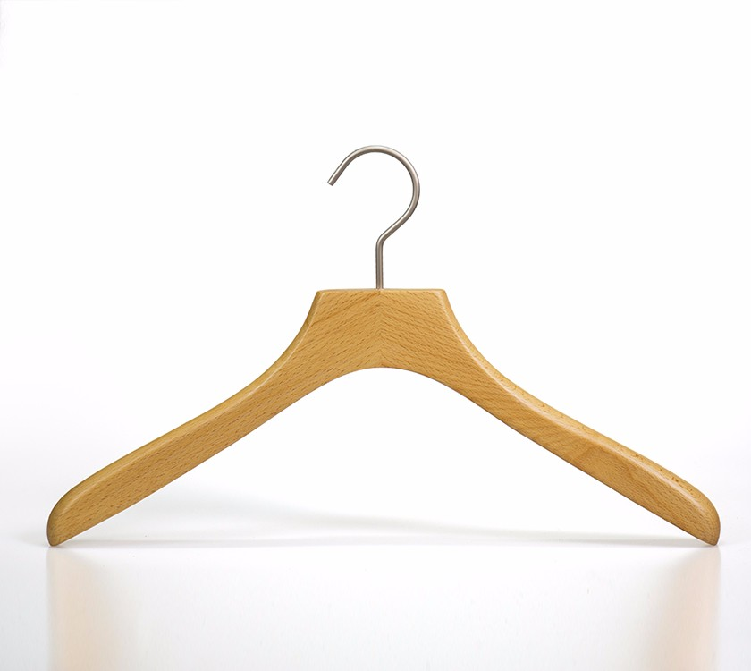 Wooden Craft Heavy Duty Coat Hangers For Bulk Clothes