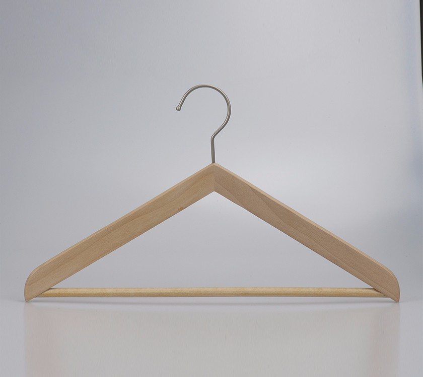 A Wooden Baby Body Clothes Hanger Stand For Display
