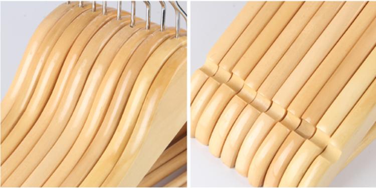 Cheap Collar Mini T Shirt Wooden Hanger For Drying Manufacturers, Cheap Collar Mini T Shirt Wooden Hanger For Drying Factory, Supply Cheap Collar Mini T Shirt Wooden Hanger For Drying