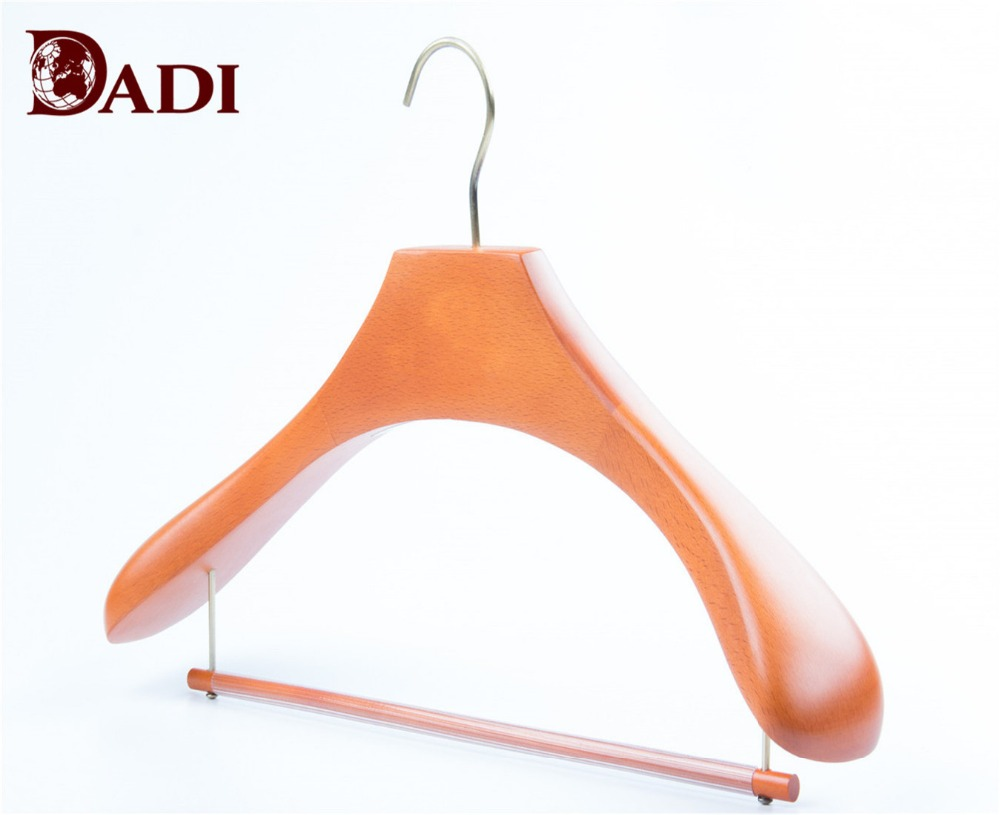 wide shoulder clothes hangers
