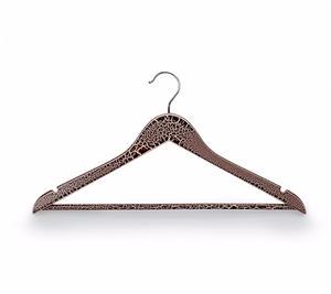 Cintres en bois pour T-shirt pour présentoir de vêtements