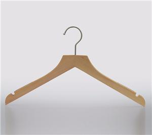 Blouse Tree Wood Hanger For Shirt Drying Clothes