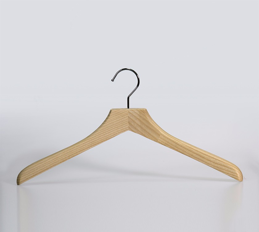 Wooden Display Hanger Stand Rack For Garment