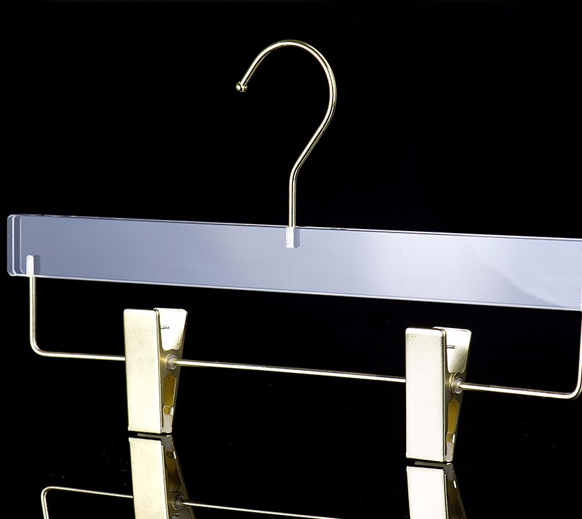 Deluxe Acrylic Pants Hanger Rack For Closet