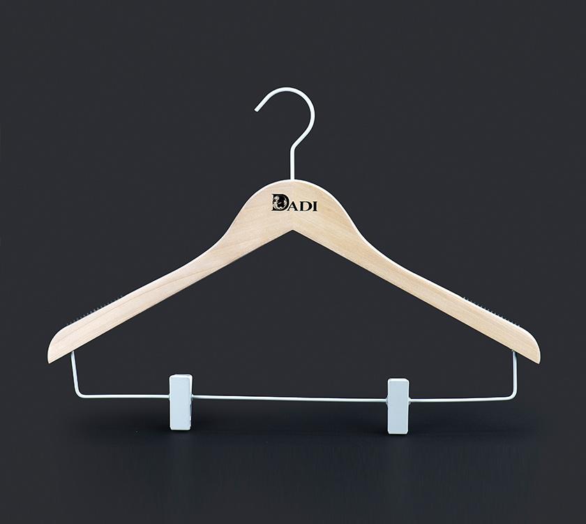 green coat hangers