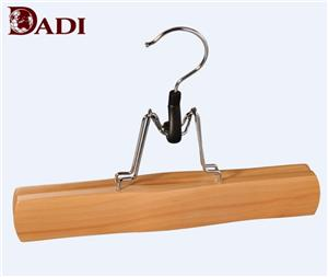 Fashion Wooden Dress Pants Rack For Supermarket Sale