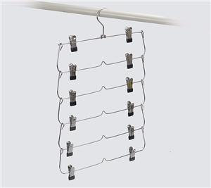 Function Metal Pants Hanger For Trousers Display