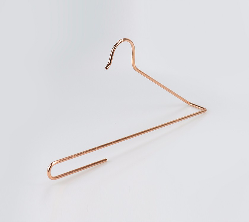 Rose Gold Laundry Metal Cloth Hanger For Wet Clothing Manufacturers, Rose Gold Laundry Metal Cloth Hanger For Wet Clothing Factory, Supply Rose Gold Laundry Metal Cloth Hanger For Wet Clothing
