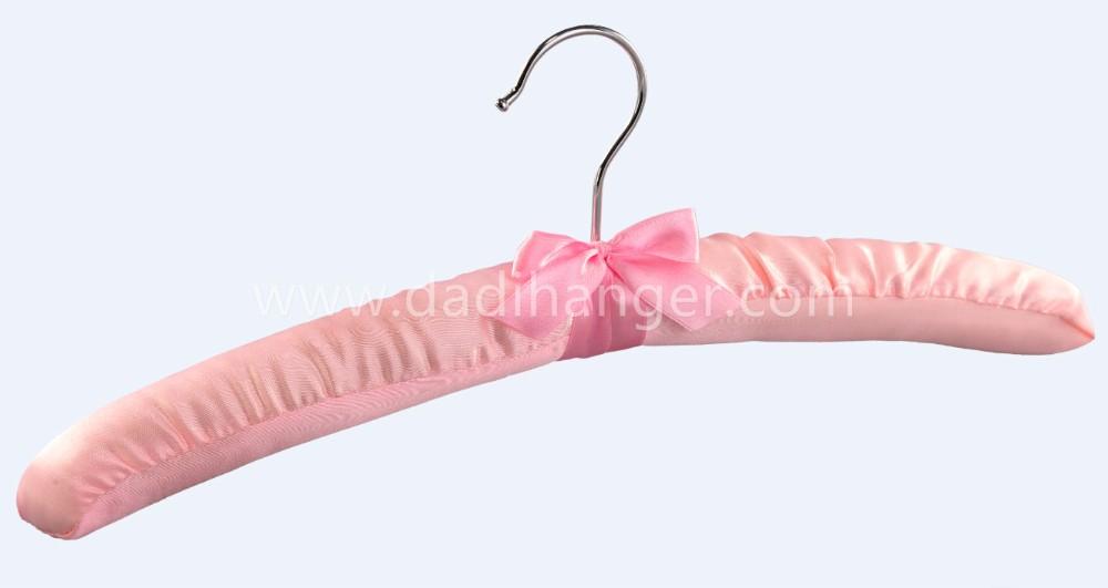 satin custom hanger