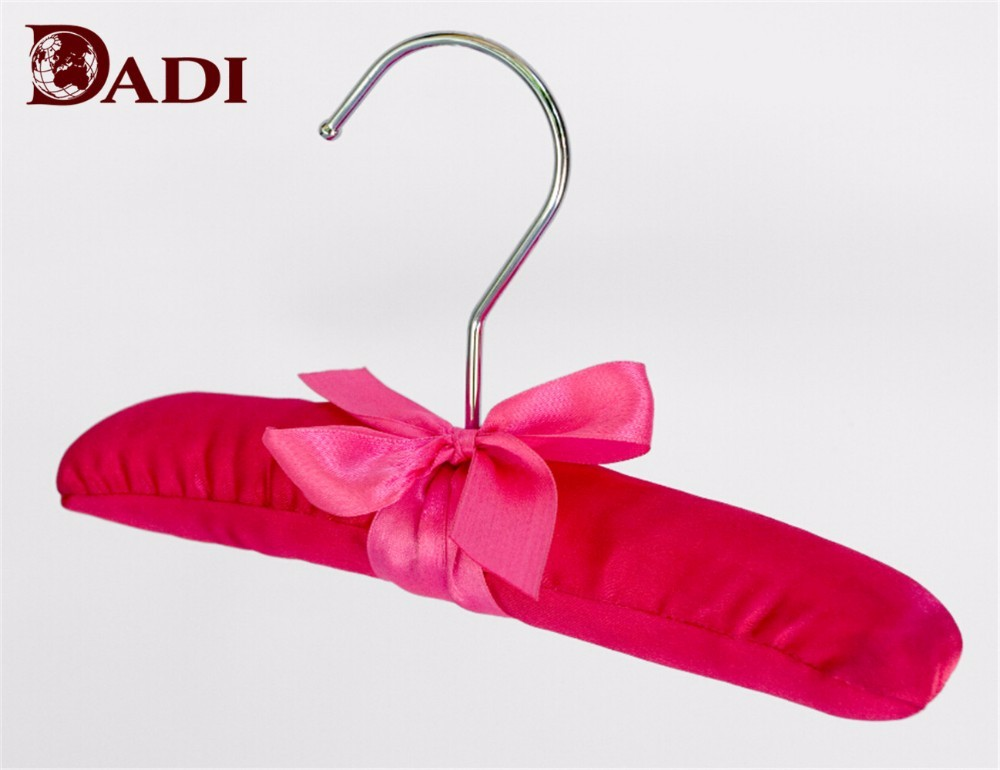 Red Padded Baby Satin Hangers With Bowknot Manufacturers, Red Padded Baby Satin Hangers With Bowknot Factory, Supply Red Padded Baby Satin Hangers With Bowknot