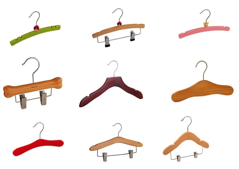 kids cartoon print hangers