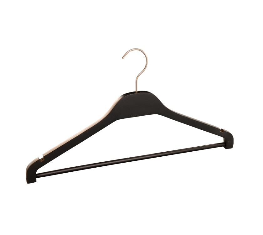 Zara Shape Wooden laminated Clothes Hanger