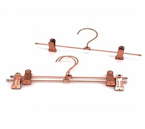 Metal Pants Hanger Parts With PVC Clips Parts