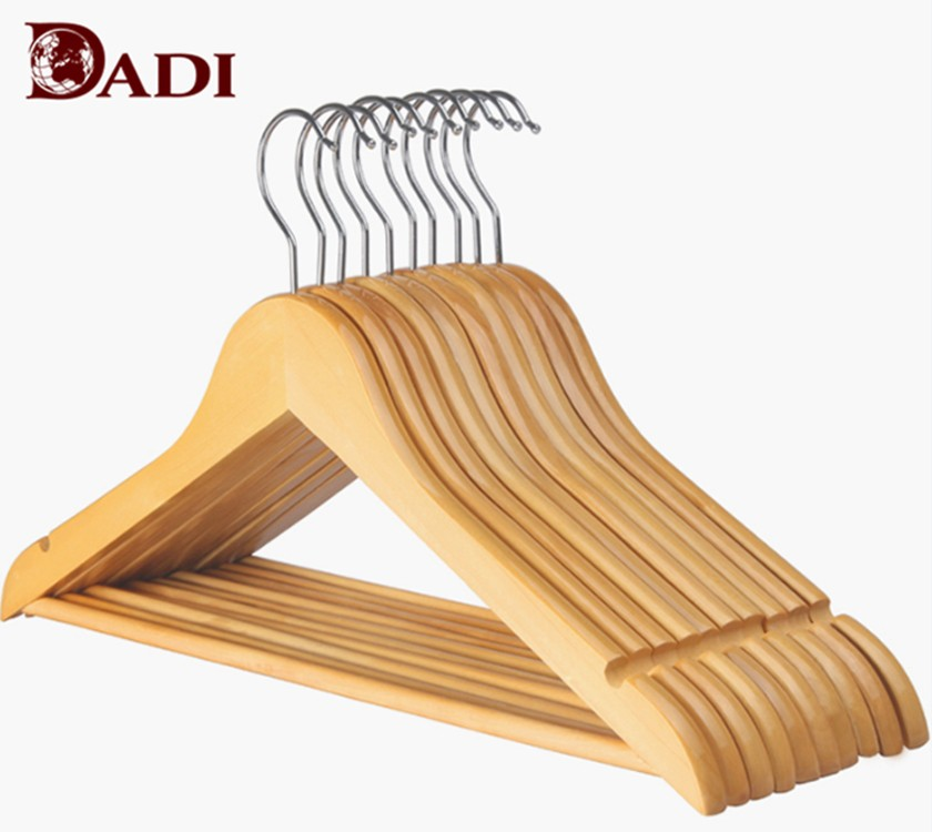 Cheap Collar Mini T Shirt Wooden Hanger For Drying