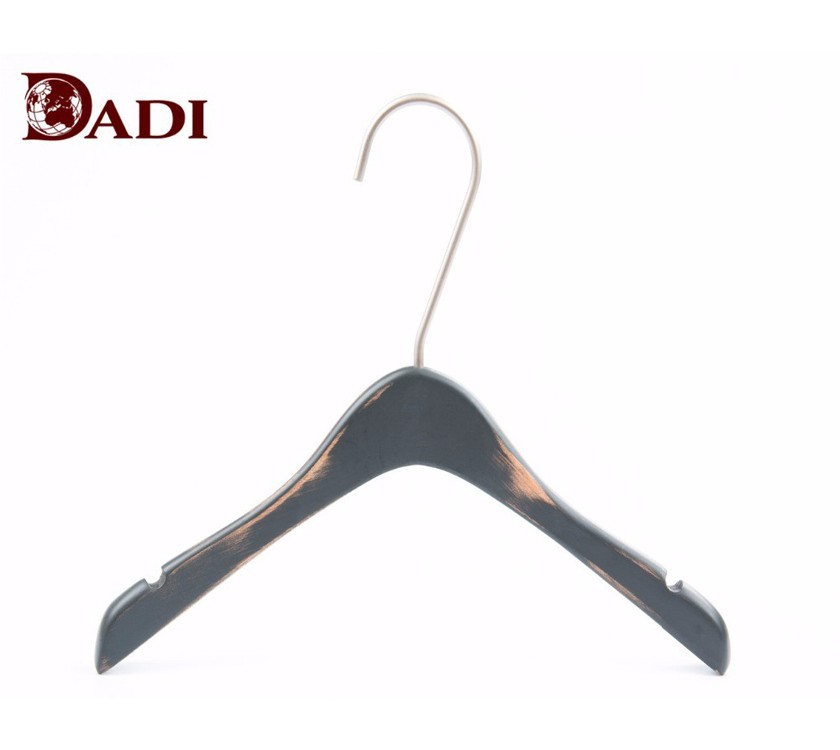 Luxury Wood Child Clothing Coat Hanger
