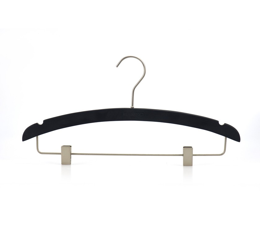 Wholesale Wooden Baby Clothing Hangers With Clips