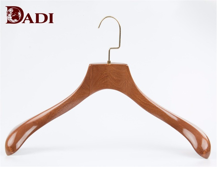 Wood Extra Wide Shoulder Clothes Hangers For Suit