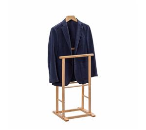 Wooden Floor Standing Clothes Hanger For Display