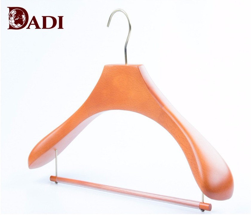Wooden Luxury Mens Extra Wide Shoulder Suit Hanger
