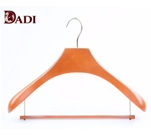 Wooden Luxury Non Slip Thick Clothes Hangers For Coat
