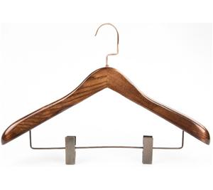 Wooden Standing Coat Hook Rack For Garment Display