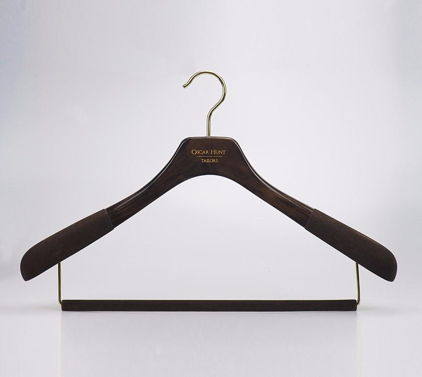 Black Velvet Extra Large Coat Hanger For Brand Manufacturers, Black Velvet Extra Large Coat Hanger For Brand Factory, Supply Black Velvet Extra Large Coat Hanger For Brand