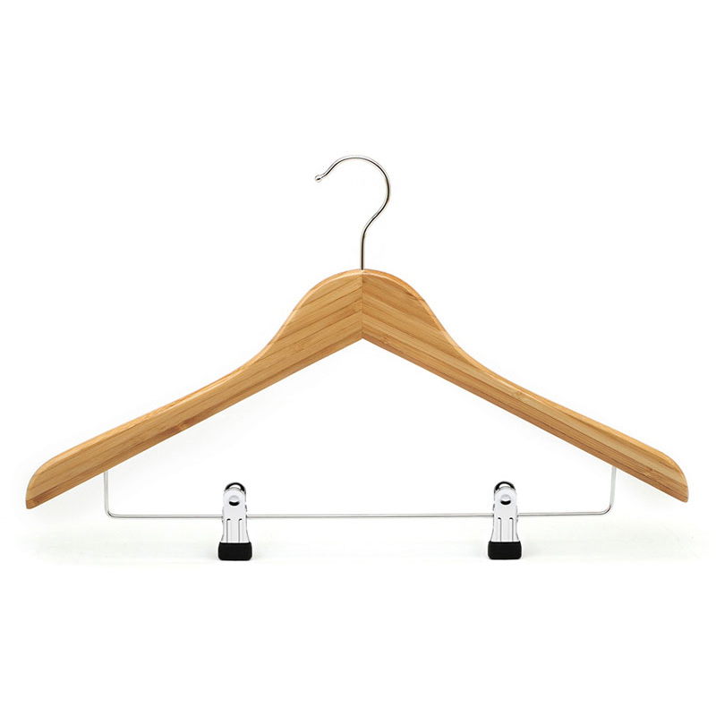bamboo clothes hanger