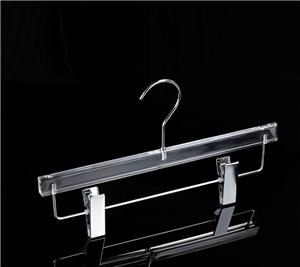 Acrylic Trousers Hanger For Garment Display