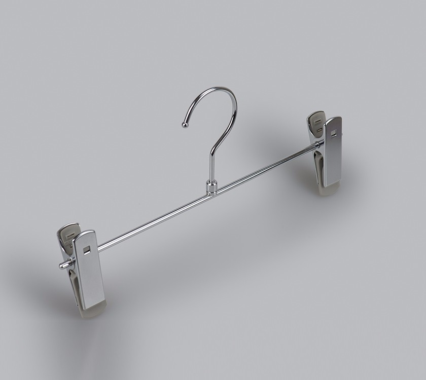 Layers Metal Trouser Hanger With PVC Coated Clip Manufacturers, Layers Metal Trouser Hanger With PVC Coated Clip Factory, Supply Layers Metal Trouser Hanger With PVC Coated Clip