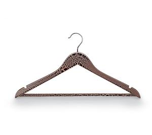 Custom Garment Hanger With Crack Lacquer